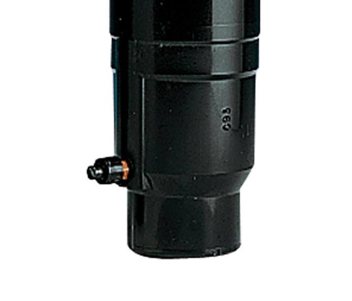 Aspersor 640 TORO, cuerpo con válvula en cabeza normalmente abierta